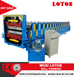 Best Sale Double Layer Roll Forming Machine Line Lts-1705 pictures & photos