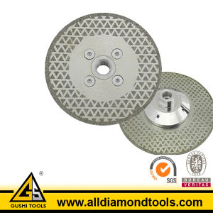 180mm Electroplated Diamond Saw Blade with Flange pictures & photos