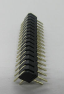 2.0*4.3mm Pin Header Right Angle, Gold Flash. pictures & photos