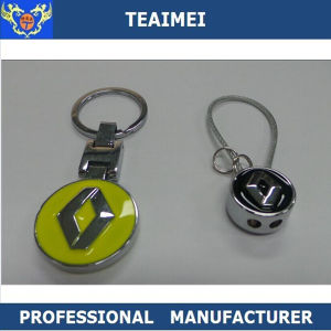 Various Car Logo Stainless Steel Wire Keychains pictures & photos