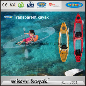 100% Transparent Double Seats Clear Kayak pictures & photos