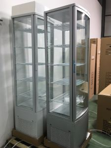 4 Side Glass Display Cooler, Glass Door Cooler pictures & photos