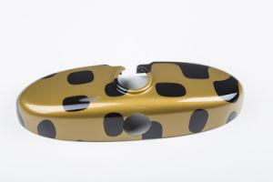 Auto-Parts Vivid Gold Interior Mirror Covers for Mini Cooper R55-R61