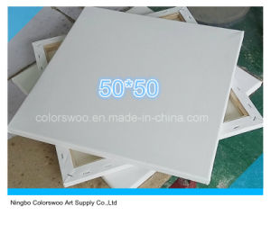 50*50cm Stretched Canvas for Painting and Drawing pictures & photos