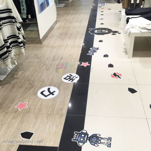 Customized All Designs Cheap Price Look Art Floor Sticker For Sale pictures & photos