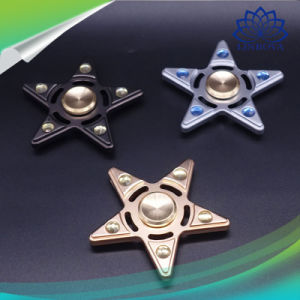 Aluminium Alloy Five Pointed Star EDC Fidget Spinner Hand Spinner pictures & photos