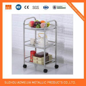 Stainless Steel Kitchen Trolleys for Home Use pictures & photos