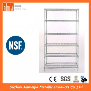 6 Tier Heavy Duty Chrome Wire Shelving pictures & photos