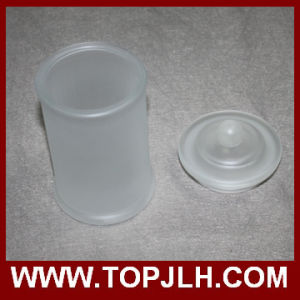 Blank Frosted Glass Storage Jar Sublimation Seal Pot pictures & photos