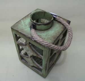 Vintage Light Green Square Corners of Classical Star Garden Lantern pictures & photos
