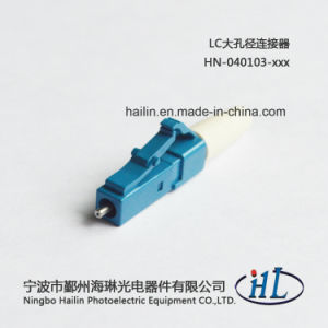 LC Fiber Optic Connectors with Stainless Steel Ferrule 0.9mm Boot pictures & photos