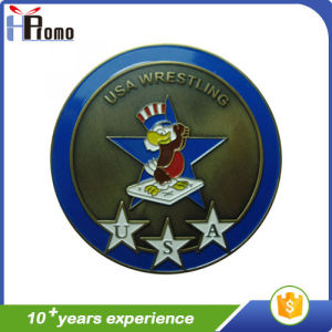 High Quality Enameled Souvenir Metal Coin pictures & photos