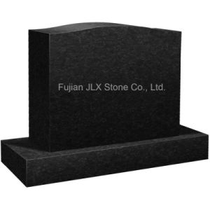Black Granite Simple Design Monument for American Market pictures & photos
