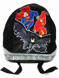 Justice League Bat Hood Boys Childrens Kids Hoody School Bag Backpack pictures & photos
