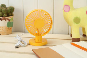Office Table Colroful Double Blade Fan pictures & photos