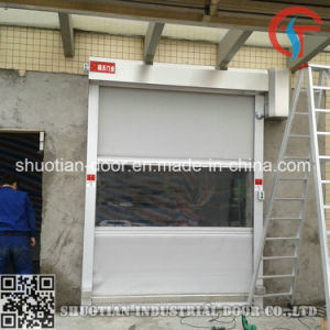 PVC Automatic Rapid High Speed Fast Door (ST-001) pictures & photos