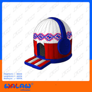 FM New Designed Colorful Disco Dome Inflatable Tent pictures & photos