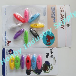 Flower and Heart Shape Hole Design Hijab Safety Pins
