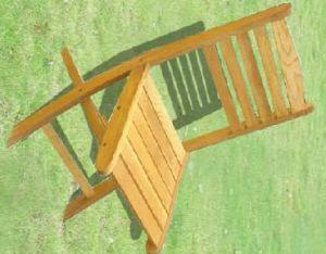 Garden Furniture Outdoor Wooden Backrest Chair for Rest pictures & photos