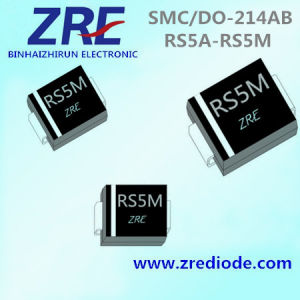5A RS5a Thru RS5m Surface Mount Fast Recovery Rectifiers Diode SMC/Do-214ab pictures & photos