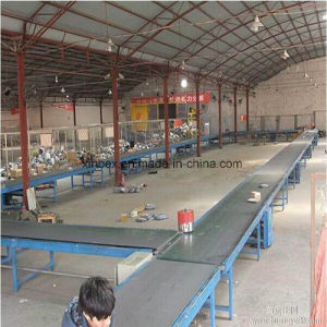 Top Quality Anti Abrasion Black Pvk/PVC/PU Logistic Conveyor Belt for Sale pictures & photos