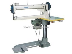 Single Needle Long Arm Cylinder Bed Unison Feed Lockstitch Machine pictures & photos