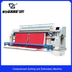 Automatic Computerized Quilting and Embroidery Machine Supplier pictures & photos