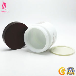 Opaque Cosmetic Cream Jar with Screw Cap for Face Polish pictures & photos