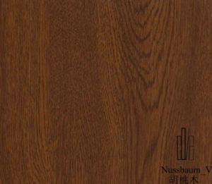 Weather Resistance Wood Grain Decorative PVC Film for Windows & Doors pictures & photos