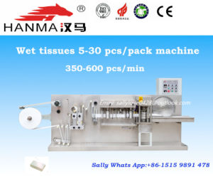 Automatic Wet Wipes Folding Machine for 5-30 PCS/Pack (HM-180)