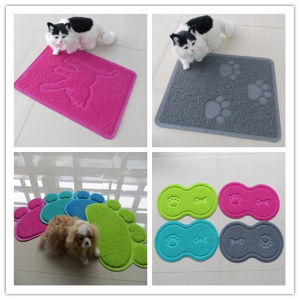 Small Size Pet Floor Mat Cat Litter Mat pictures & photos