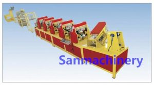 45m/Min Punching Paper Edge Protector/Angle Board Machine (SANPPL-120DC) pictures & photos