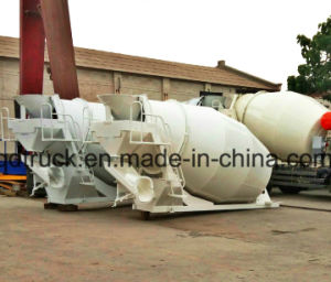 3-9m3 concrete mixer tank upper parts, mixer tank upper assembly pictures & photos