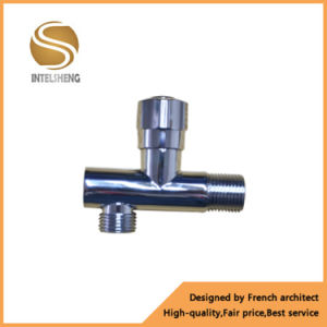 Red/Blue Color Handle Brass Angle Valve pictures & photos
