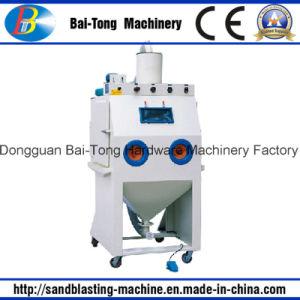 Manual Plastic Products Dry Sandblasting Machine pictures & photos