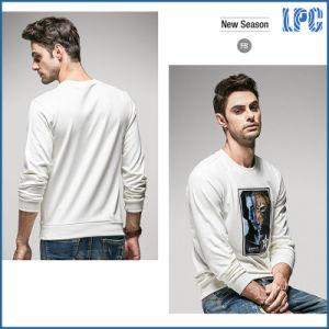 White Leisure Fashion Long Sleeve Men T Shirt Printing pictures & photos