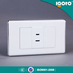 American Type A60-111f 10A 15A 2 Pin Wall Socket pictures & photos