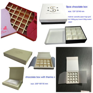 Candy Packaging Box/ Chocolate Paper Box for Gift/Chocolate Box pictures & photos