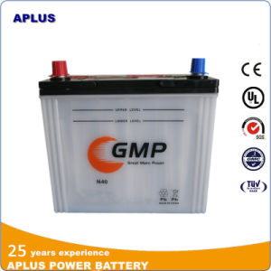 Lead Acid Dry Storage Automobile Rechargeable Starting Battery 12V40ah N40 pictures & photos