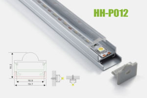 Hh-P012 Surface Mounted LED Aluminum Profiles pictures & photos