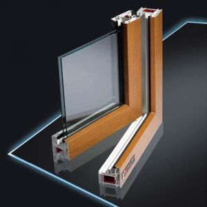 UPVC Window Profile in Different Sections PVC Profile pictures & photos