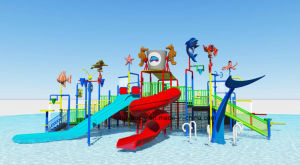 Kids Water Park with Slide for Sale pictures & photos