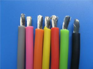 Silicone Rubber Insulated Cable with 3AWG pictures & photos