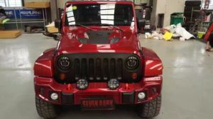 Steel Front Rear Bumper for Jeep Wrangler Jk pictures & photos