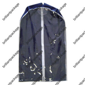 Dustproof PEVA Suit Cover Garment Storage Bag with Window pictures & photos