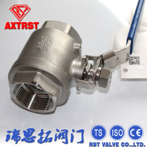 2PC Floating Stainless Steel Full Port Threaded Ball Valve pictures & photos