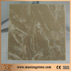 Emperador Light Stone Artificial Marble Quartz Countertop pictures & photos
