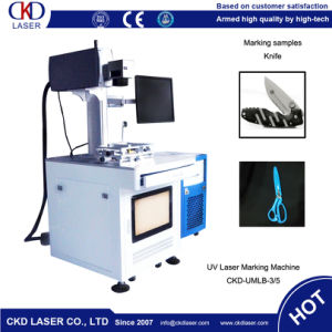 Vector Marking Laser Marking Machine for Knife pictures & photos