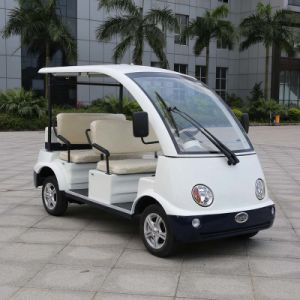 Marshell Factory 4 Seater Mini Electric Vehicle for Tourist (DN-4) pictures & photos