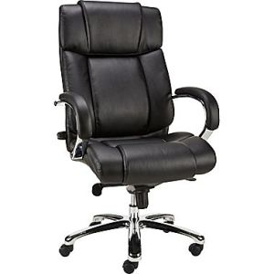 Real Leather Manager Office Chair Aluminium Alloy Foot (SZ-OCK02) pictures & photos